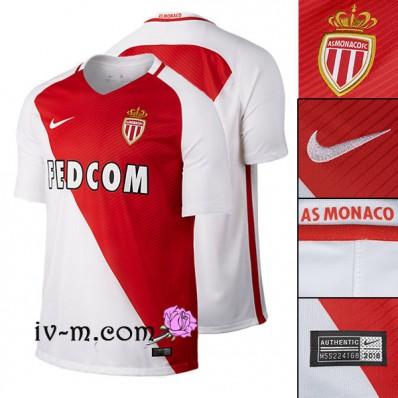 Maillot Domicile AS Monaco LONGUES
