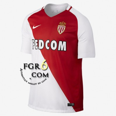 Maillot Domicile AS Monaco solde