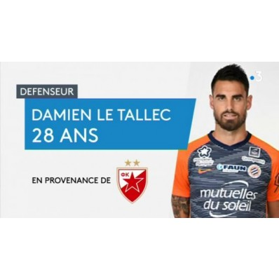 Maillot Domicile MONTPELLIER Damien LE TALLEC