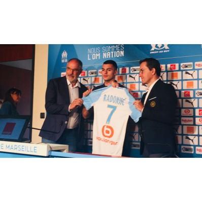 Maillot Domicile Olympique de Marseille Nemanja RADONJIC