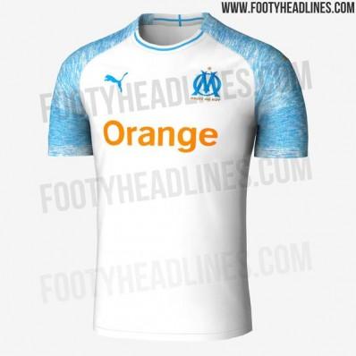 Maillot Domicile Olympique de Marseille en solde