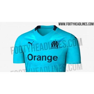 Maillot Domicile Olympique de Marseille noir