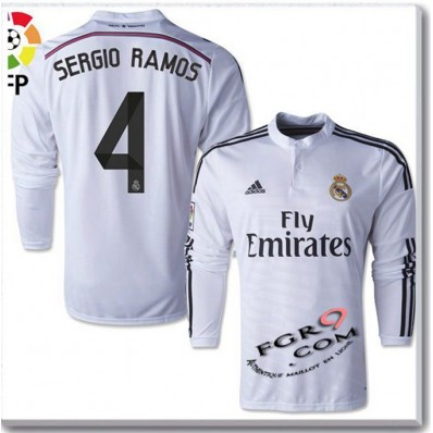 Maillot Domicile Real Madrid Sergio Ramos