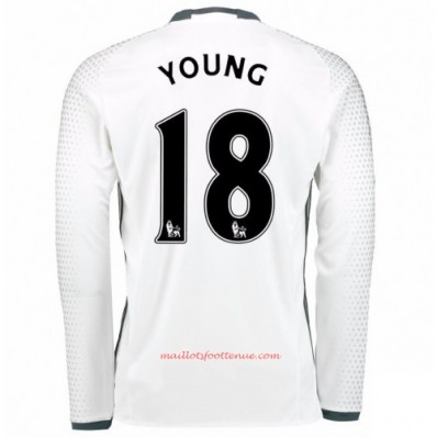 Maillot Extérieur Manchester United Ashley Young
