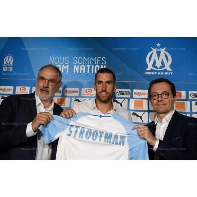 Maillot Extérieur Olympique de Marseille Kevin STROOTMAN