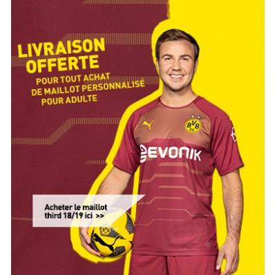 Maillot THIRD Borussia Dortmund Marius Wolf
