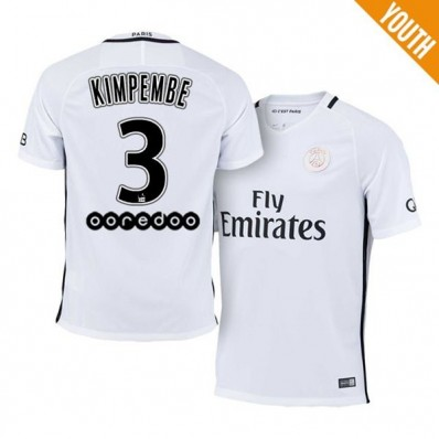 Maillot THIRD Paris Saint-Germain Presnel KIMPEMBE