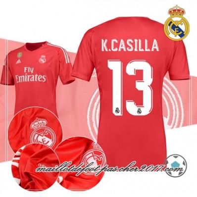 Maillot THIRD Real Madrid K. Casilla