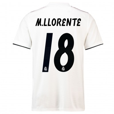 Maillot THIRD Real Madrid M. Llorente