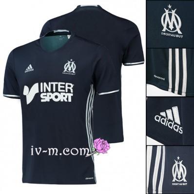 ensemble de foot Olympique de Marseille noir