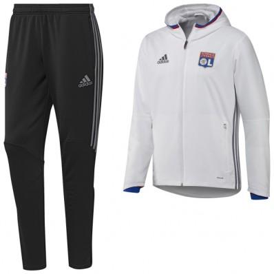 survetement Olympique Lyonnais noir