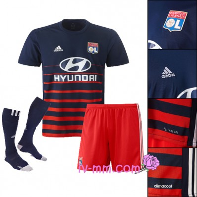 tenue de foot Olympique Lyonnais en solde