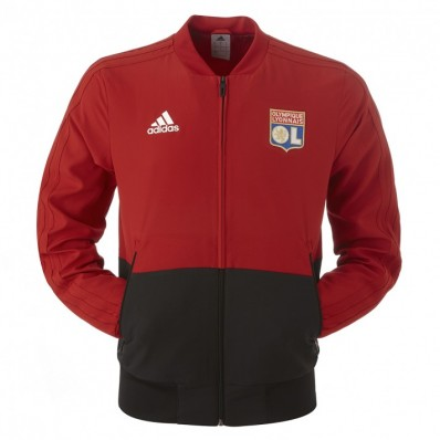 tenue de foot Olympique Lyonnais gilet