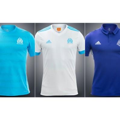 tenue de foot Olympique de Marseille 2017