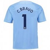 Maillot Extérieur Manchester City Claudio Bravo