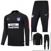 survetement Atlético de Madrid noir