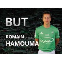 Maillot Domicile saint etienne Romain HAMOUMA
